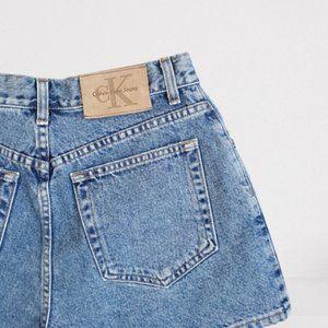 High Waisted Calvin Klein Shorts